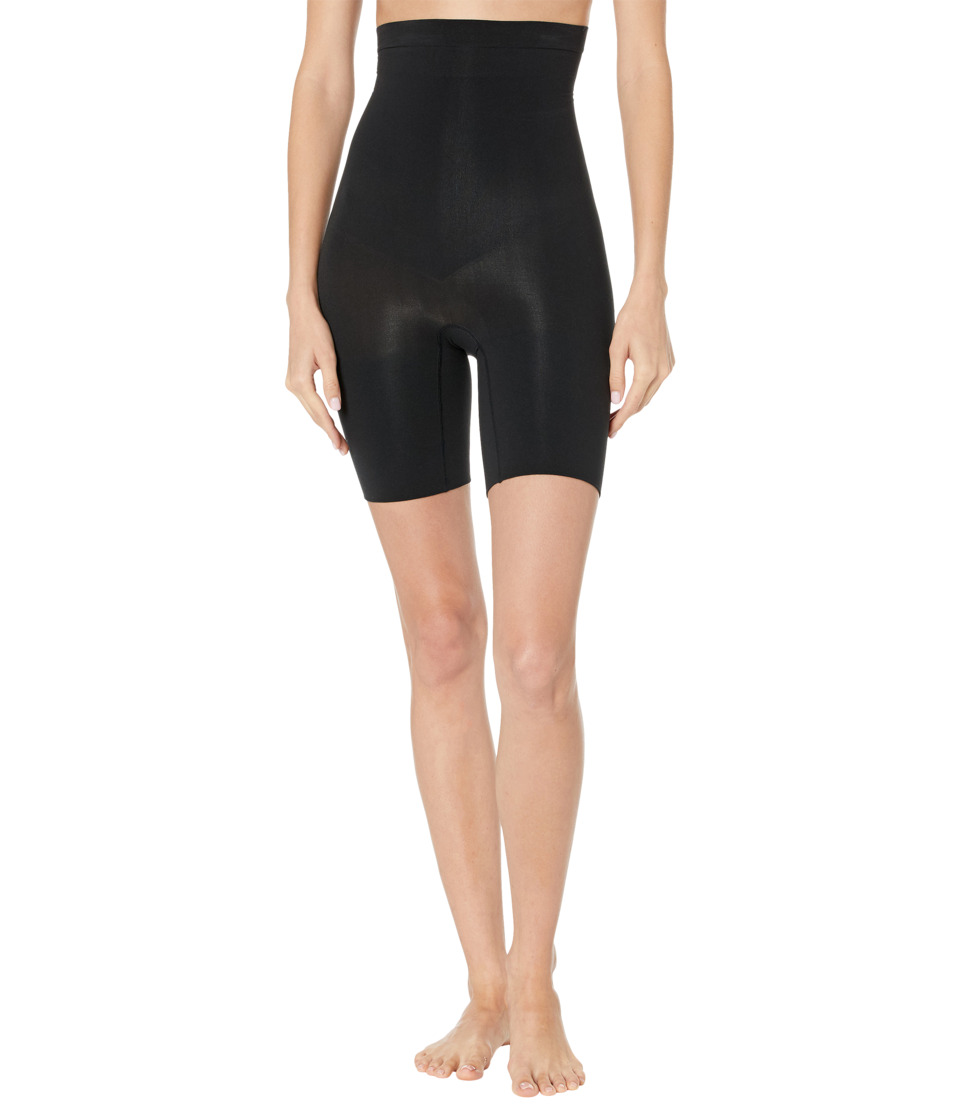 Spanx Higher Power Shorts Black Womens Underwear