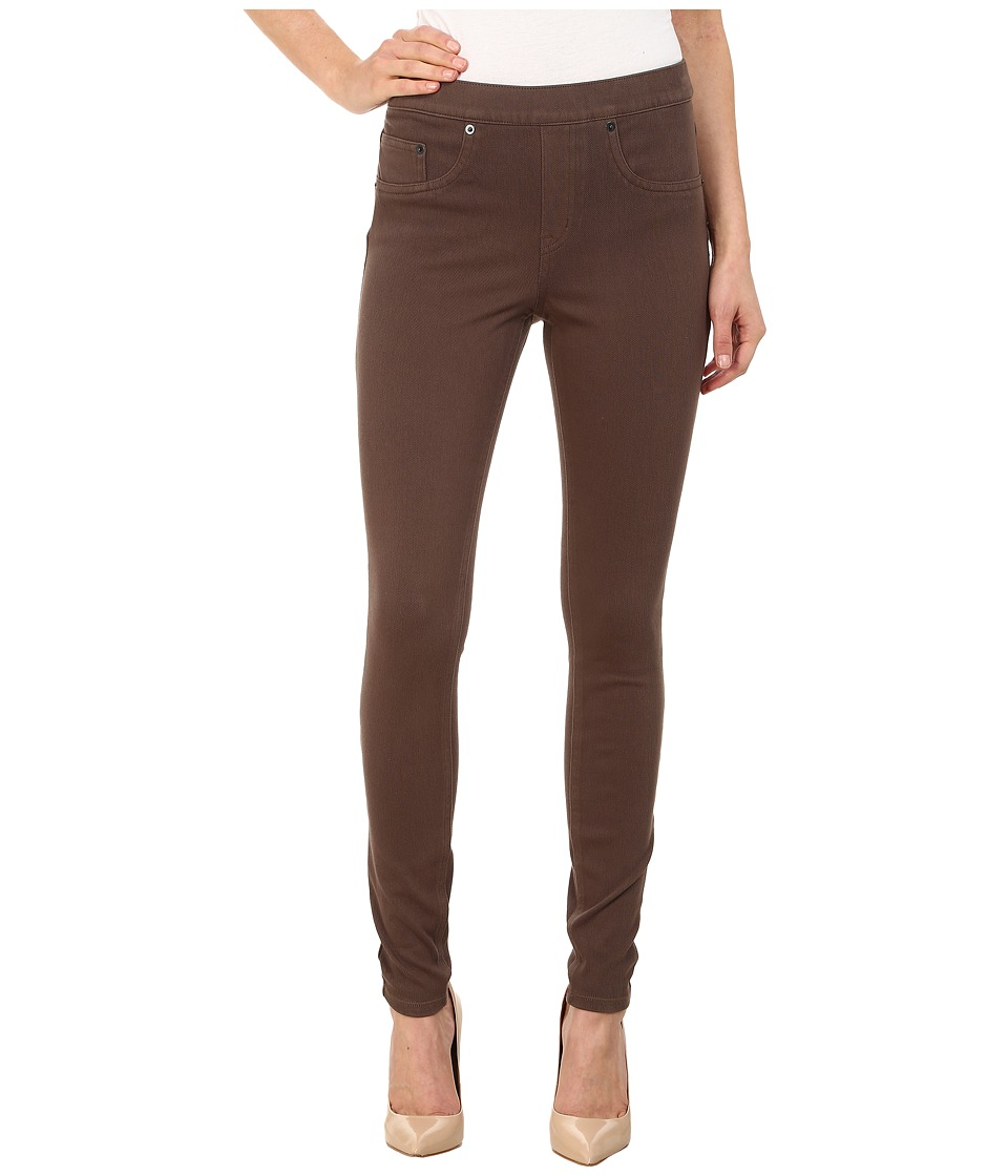 Spanx Jean ish Twill Shaping Legging Sienna Brown Womens Casual Pants