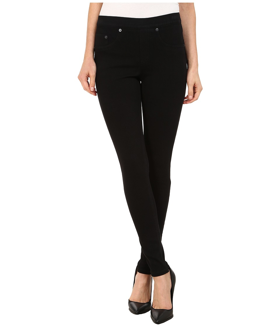 Spanx Jean ish Twill Shaping Legging Very Black Womens Casual Pants