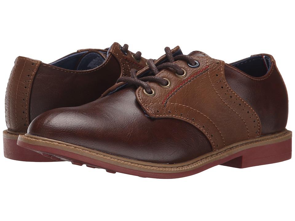 Tommy Hilfiger Kids Michael Saddle (Little Kid/Big Kid) (Brown) Boy's Shoes