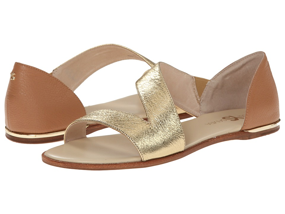 Yosi Samra - Casey Crossover Leather Sandal