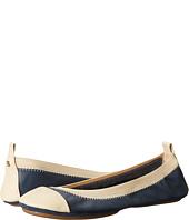 Yosi Samra - Samantha Two-Tone Leather Flat