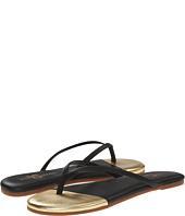 Yosi Samra - Roee Cap Metallic Leather Flip Flop
