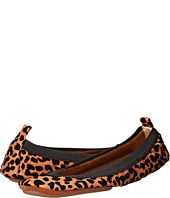 Yosi Samra - Samara Flocked Leopard Leather Flat