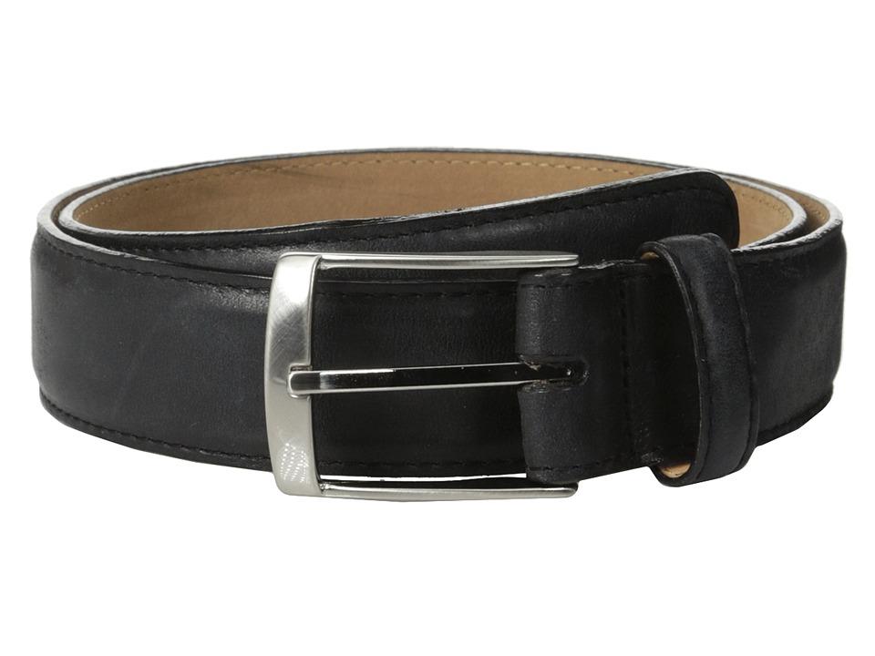 Brighton - Salerno 1 3/8 Belt (Black) Mens Belts