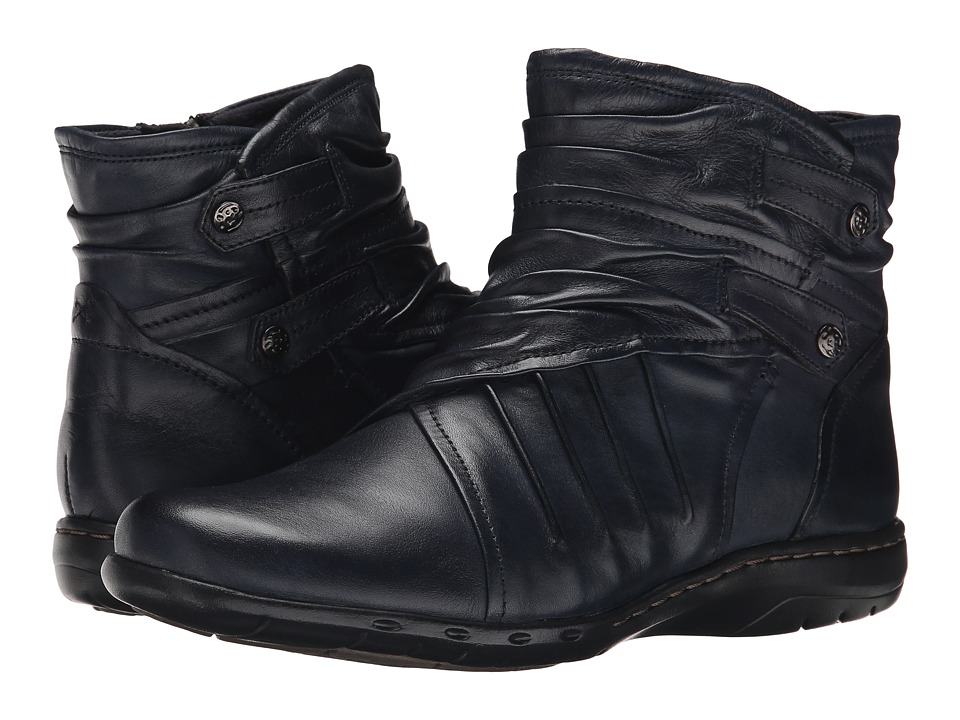 Cobb Hill Pandora Navy Womens Pull on Boots