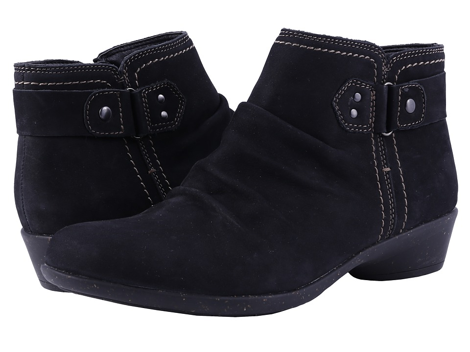 Rockport Cobb Hill Collection - Cobb Hill Nicole (Black) Womens Zip Boots