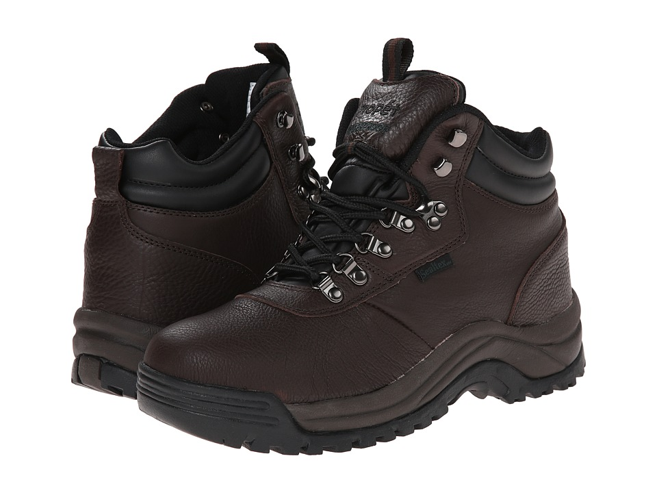 Propet - Cliff Walker Medicare/HCPCS Code = A5500 Diabetic Shoe (Bronco Brown) Mens Shoes