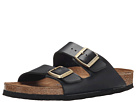 Birkenstock - Arizona Soft Footbed (Hunter Black Leather)