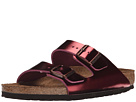 Birkenstock - Arizona Soft Footbed (Metallic Tourmaline Leather)
