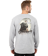 Carhartt - Maddock Graphic Dog and Field Long Sleeve Pocket Tee