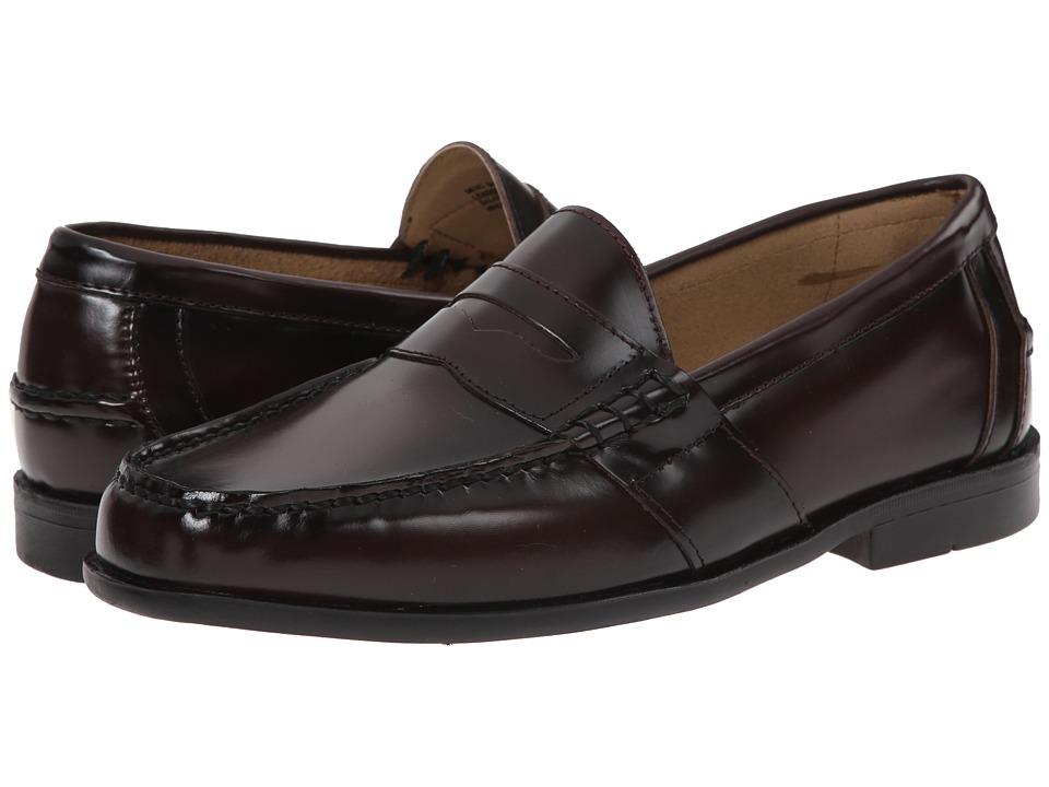 Nunn Bush - Kent Moc Toe Penny Loafer (Burgundy) Men