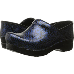 Image of Dansko - Professional (Navy Medallion) Women's Clog Shoes