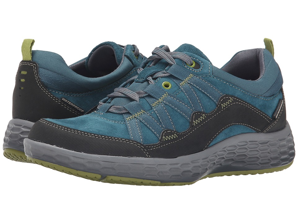 Cobb Hill Fresh Excel Teal Womens Lace up casual Shoes