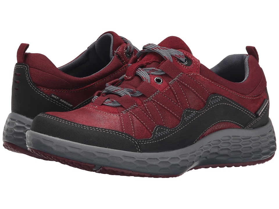 Cobb Hill Fresh Excel Red Womens Lace up casual Shoes
