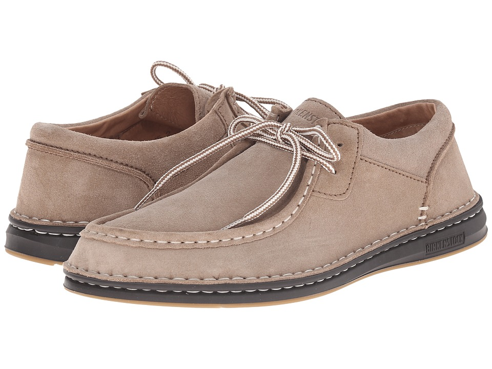 Birkenstock - Pasadena (Taupe Suede) Men's Lace up casual Shoes