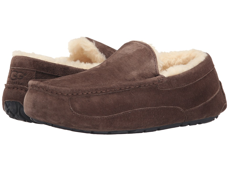 ugg ascot slippers brown