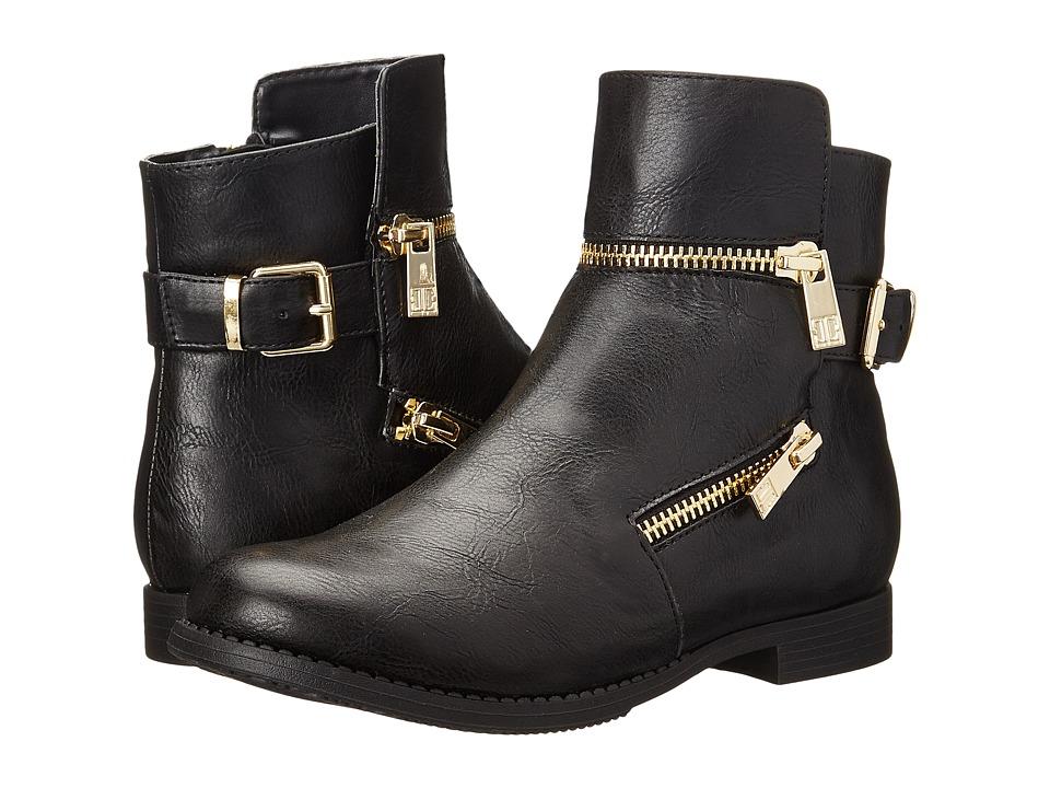 Ivanka Trump Kids Jordan Zip Little Kid/Big Kid Black Girls Shoes