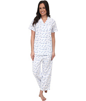 Eileen West - Seaside Notch Capris PJ