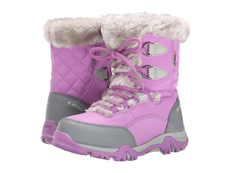 Hi-Tec Kids - St. Moritz Lite 20 Waterproof Jr (Toddler/Little Kid/Big Kid) (Orchid/Cool Grey) Girls Shoes