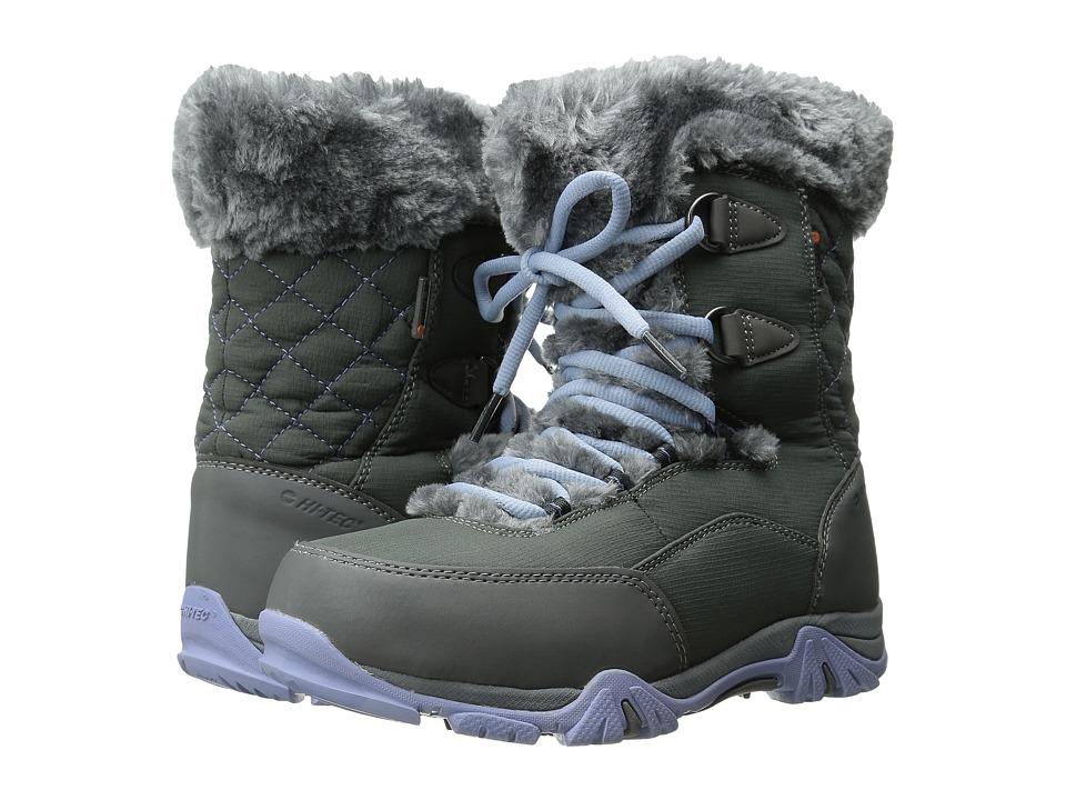 Hi Tec Kids St. Moritz Lite 20 Waterproof Jr Toddler/Little Kid/Big Kid Charcoal/Steel Grey/Lustre Girls Shoes