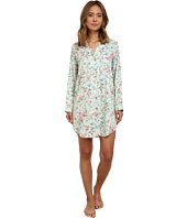 LAUREN by Ralph Lauren - Long Sleeve Notch Collar Sleepshirt