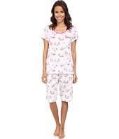 Carole Hochman - Novelty Print Bermuda Pajama Set