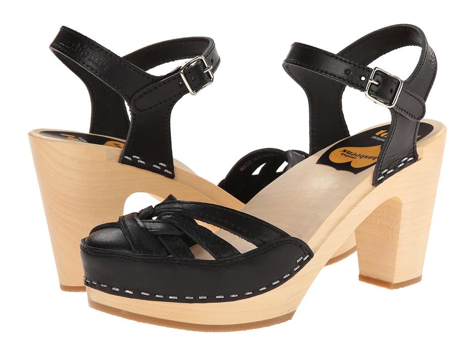 Swedish Hasbeens Agneta (Black) High Heels