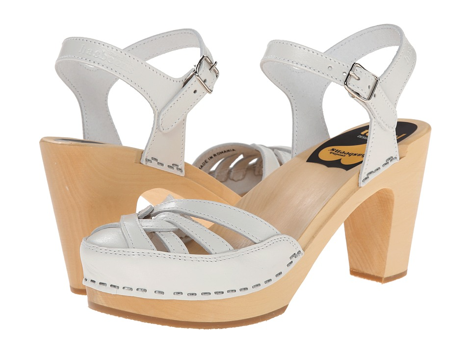 Swedish Hasbeens - Agneta (White) High Heels
