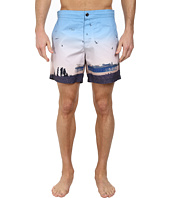 Ben Sherman - Brighton Pier Print Swim Shorts MG11430