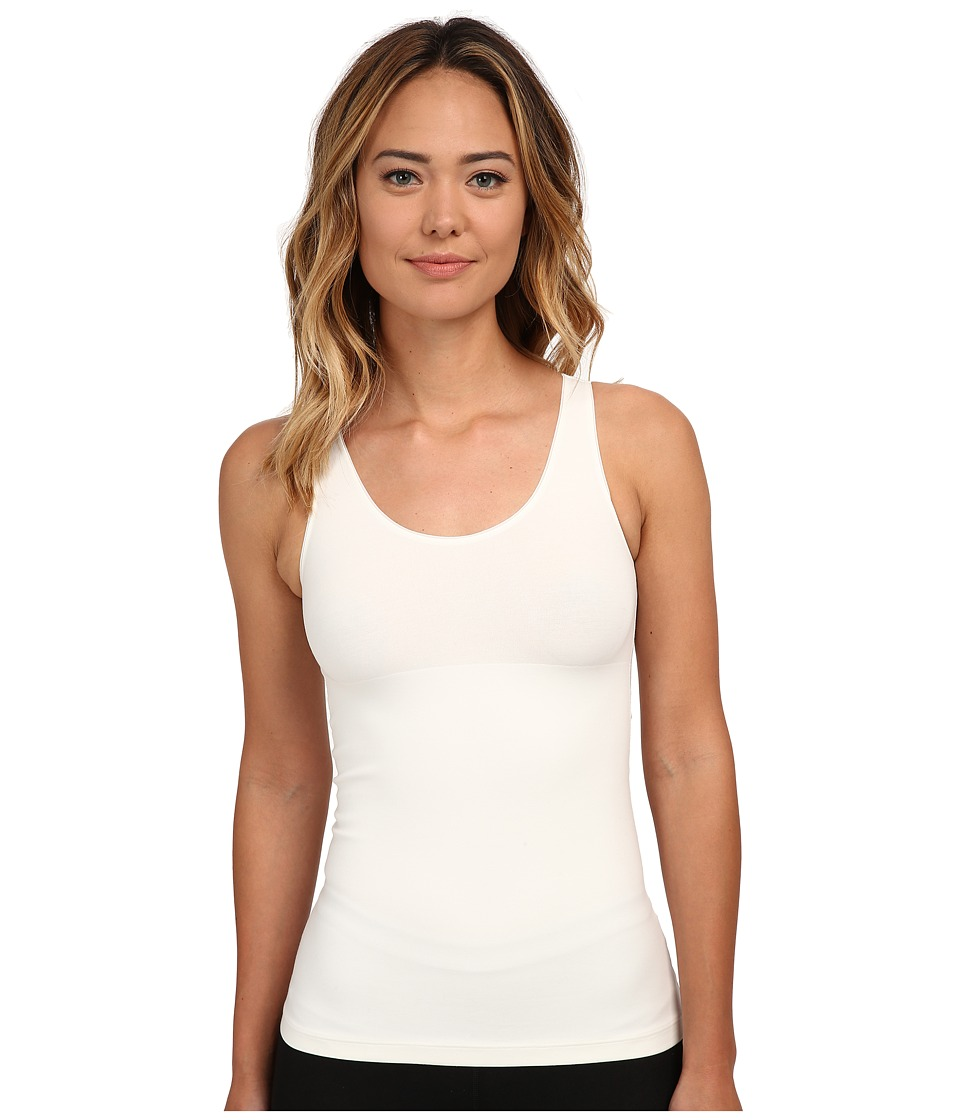 Spanx In and Out Tank Top Powder Womens Sleeveless
