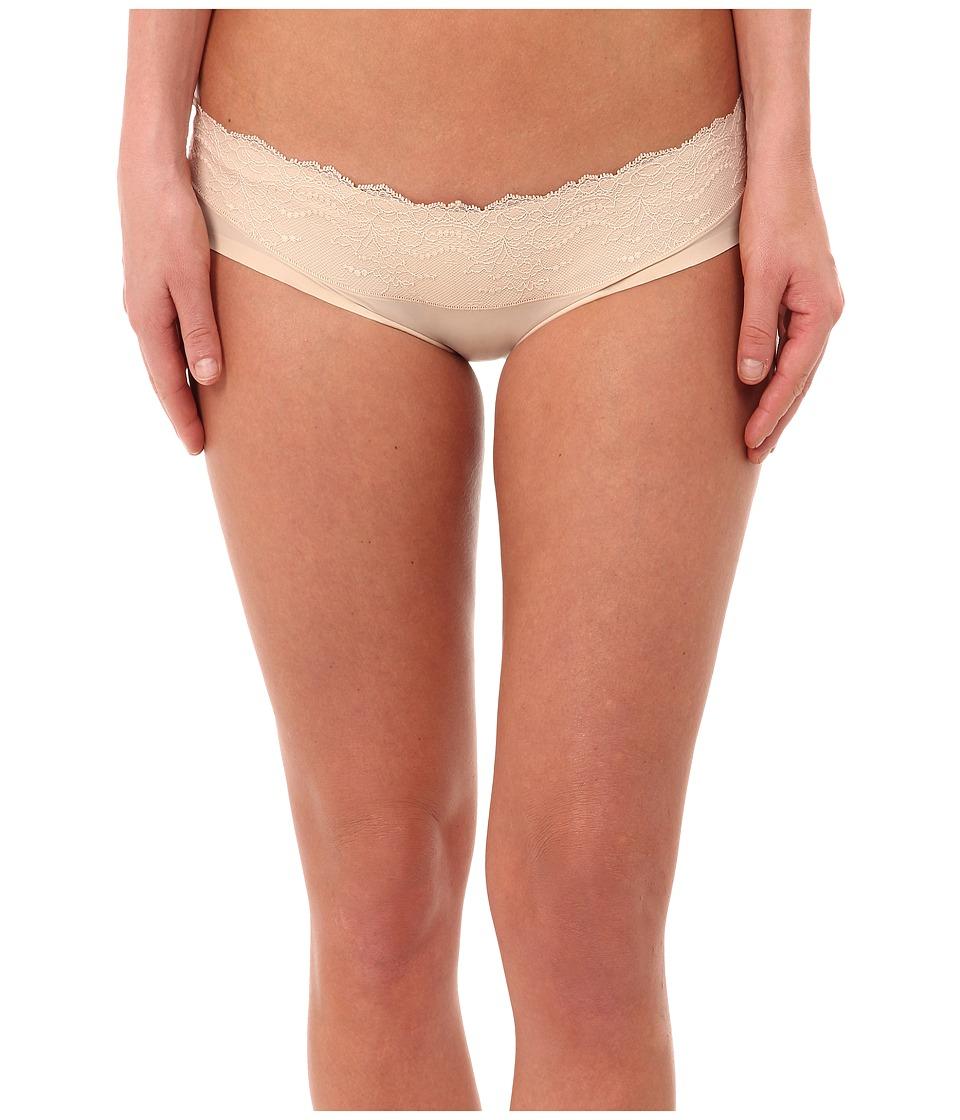 Spanx Lace Waist Hipster Nude Womens Underwear