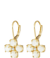 Kate Spade New York - Central Park Pansy Leverback Earrings