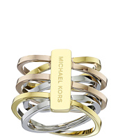 Michael Kors - Tri-Tone Crisscross Ring