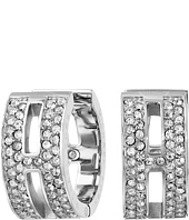 Michael Kors - Pave Maritime Huggie Earrings