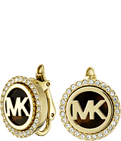 Michael Kors - Monogram Stud Clip On Earrings