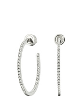 Michael Kors - Small Pave Inside Out Hoop Earrings