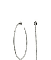 Michael Kors - Large Pave Inside Out Hoop Earrings