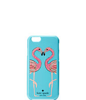 Kate Spade New York - Embellished Flamingos Resin iPhone 6