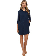 C&C California - Solid Rayon Shirtdress
