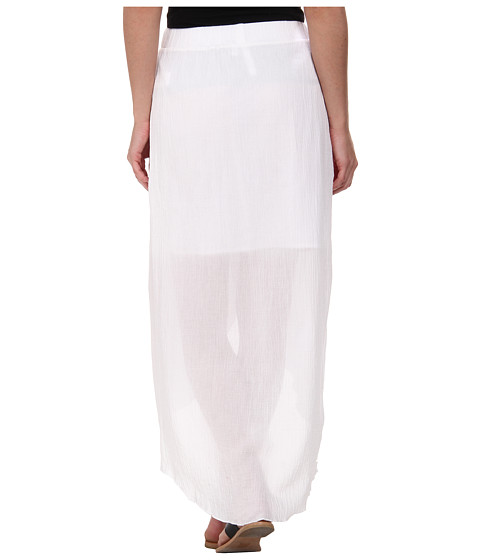 c c california hi low maxi skirt white 6pm
