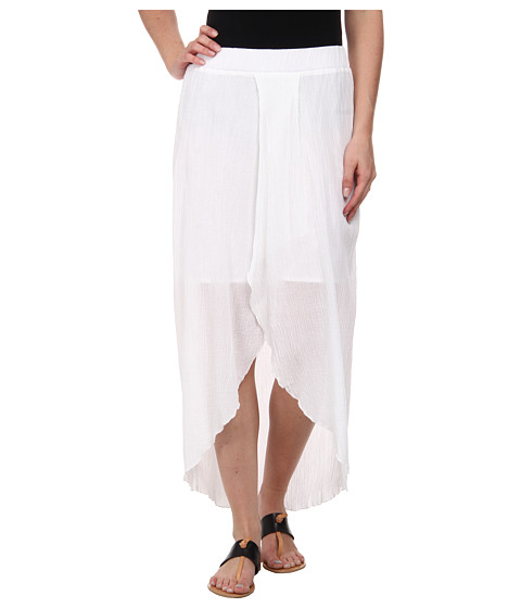 c c california hi low maxi skirt white shipped free at