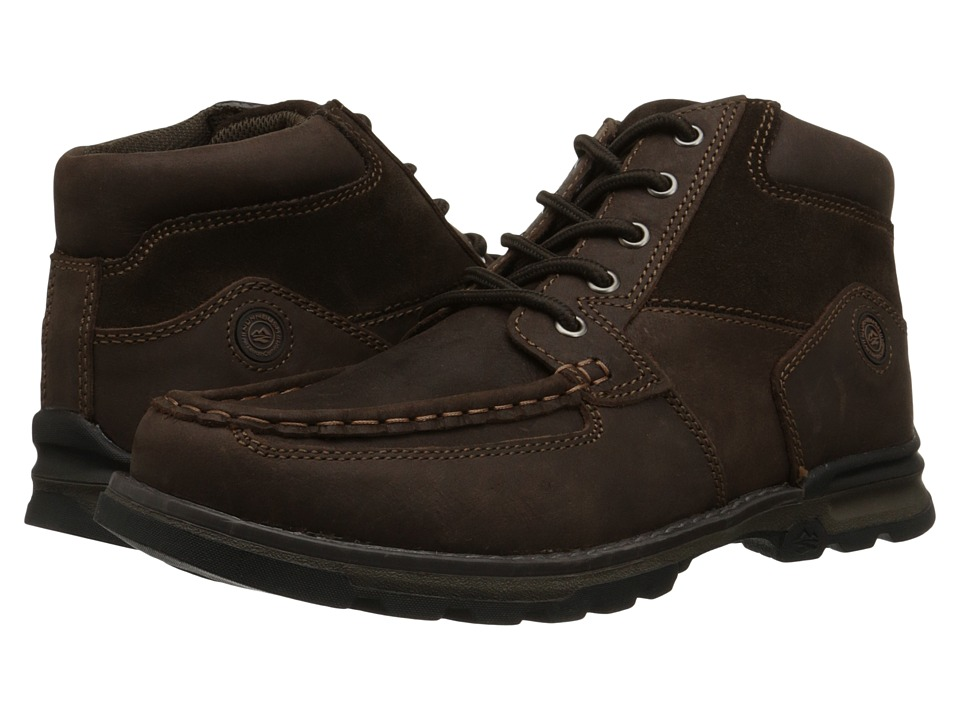 Nunn Bush Pershing Moc Toe (Brown) Men
