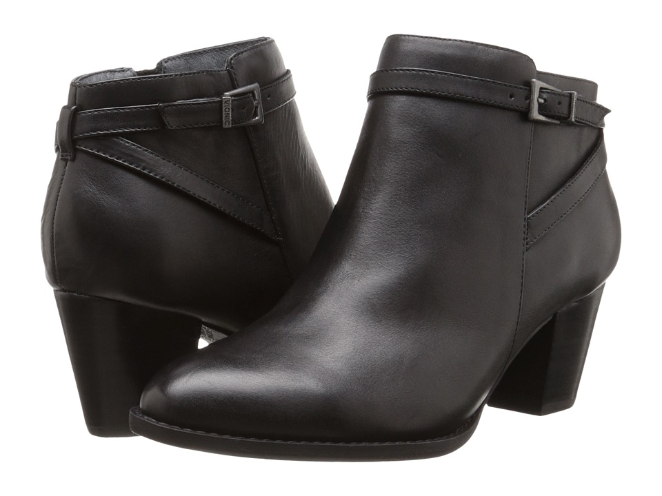 VIONIC Upright Upton Ankle Boot (Black) Women