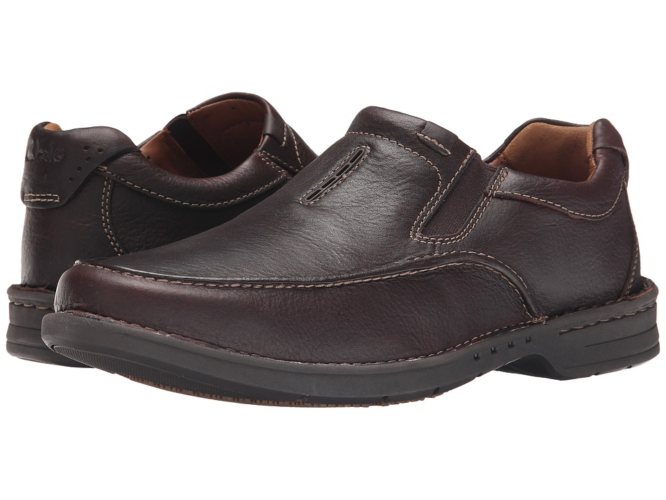 Clarks - Untilary Easy (Brown Leather) Men