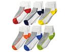 Jefferies Socks Jefferies Socks Performance Tech Sport Quarter 6-Pack (Infant/Toddler/Little Kid/Big Kid)