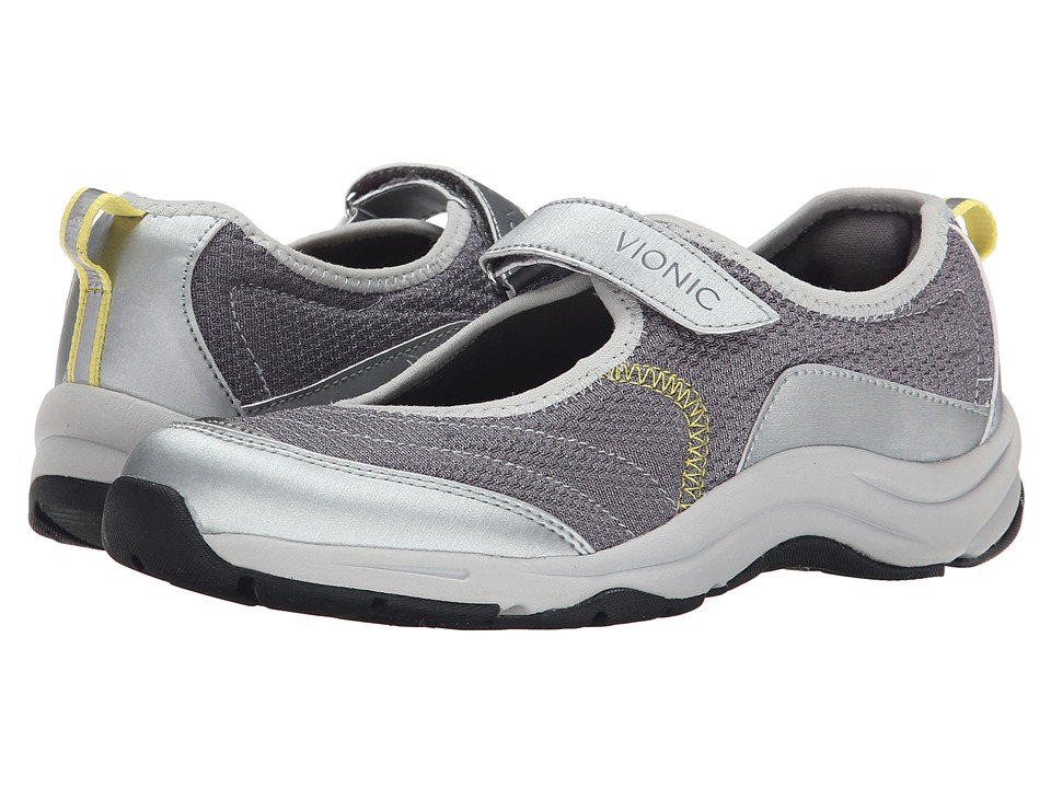 VIONIC Action Sunset Mary Jane Dark Grey Womens Maryjane Shoes