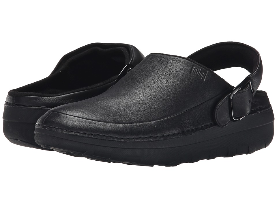 FitFlop - Goghtm Pro Superlight (Black) Womens Clog Shoes