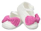 Jefferies Socks - Bow Bootie (Infant)