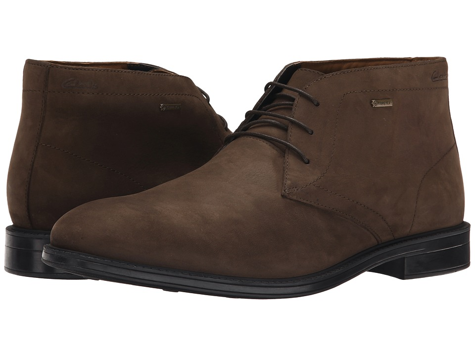 Clarks - Chilver Hi GTX (Dark Brown) Men